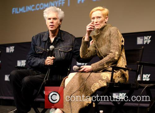 Jim Jarmusch and Tilda Swinton 2
