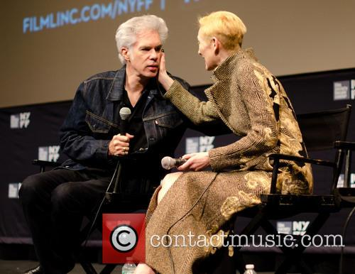 Jim Jarmusch and Tilda Swinton 1