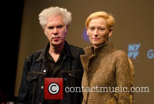 Jim Jarmusch and Tilda Swinton 6