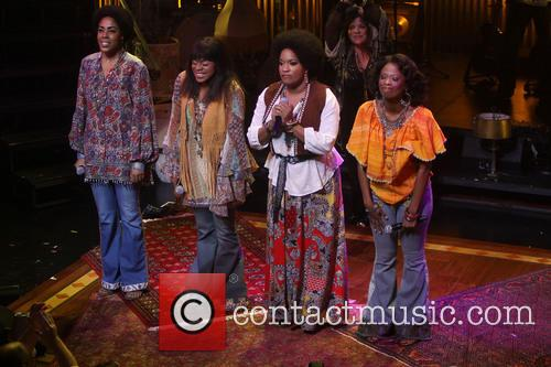 Opening night curtain call A Night With Janis...