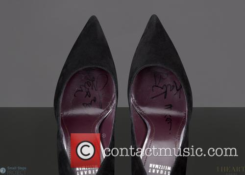 Steps and Celebrity Shoe Auction 1