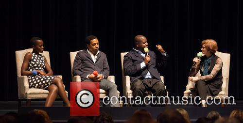 Lupita Nyong'o, Chiwetel Ejiofor, Steve Mcqueen and Zoe Elton 1