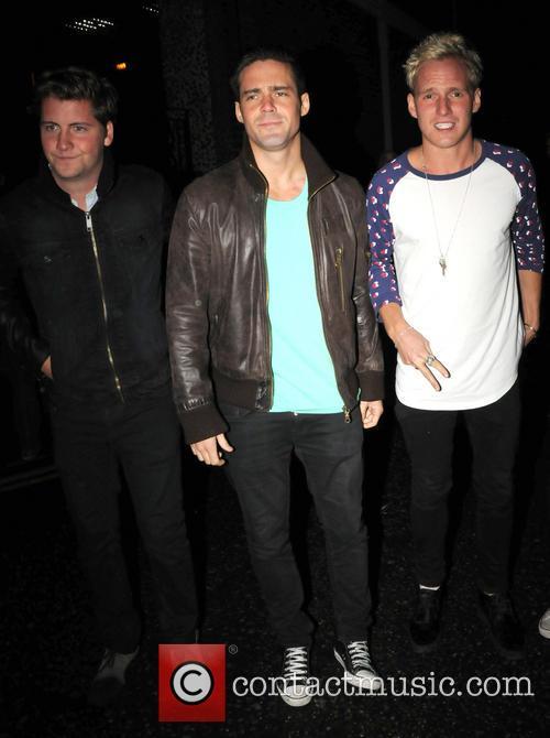 Stevie Johnson, Spencer Matthews and Jamie Laing 2