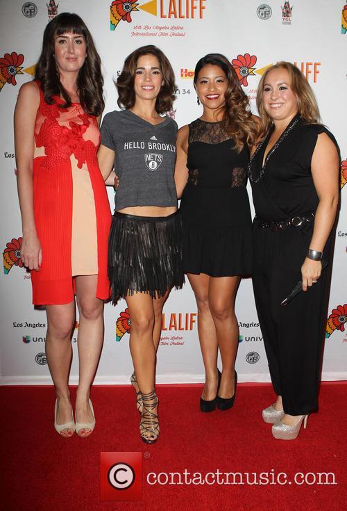 Courtney Andrialis, Ana Ortiz, Gina Rodriguez and Nicole Gomez Fisher 2