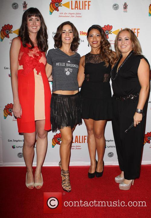 Courtney Andrialis, Ana Ortiz, Gina Rodriguez and Nicole Gomez Fisher 3