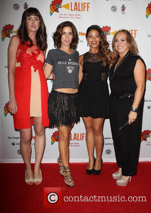 Courtney Andrialis, Ana Ortiz, Gina Rodriguez and Nicole Gomez Fisher 4
