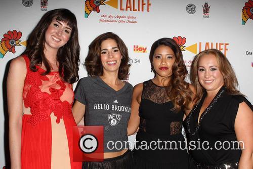 Courtney Andrialis, Ana Ortiz, Gina Rodriguez and Nicole Gomez Fisher 1