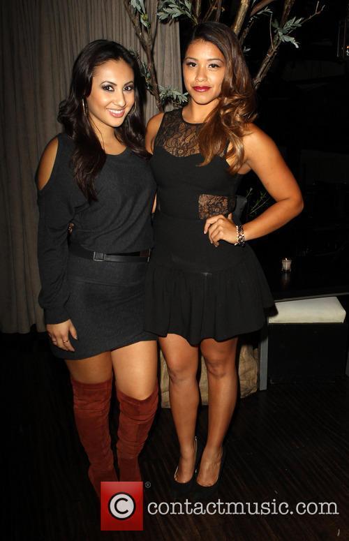 Francia Raisa and Gina Rodriguez
