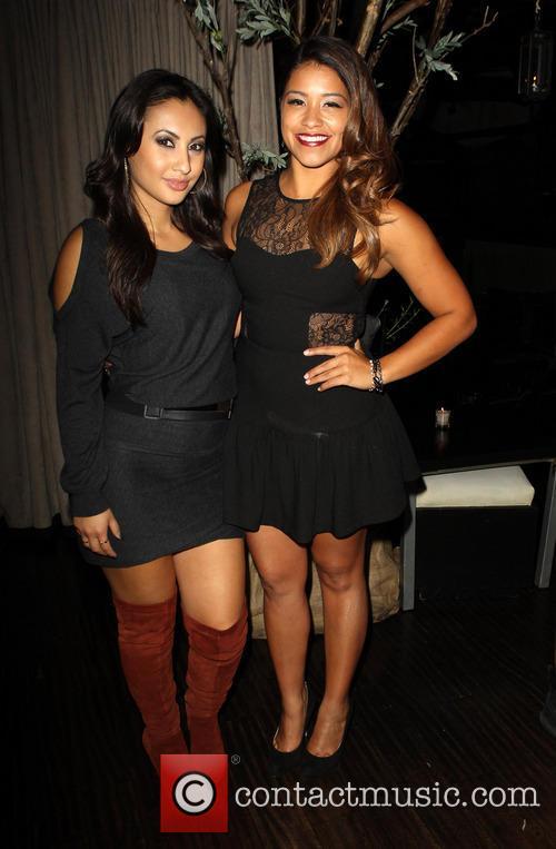 Francia Raisa and Gina Rodriguez 4