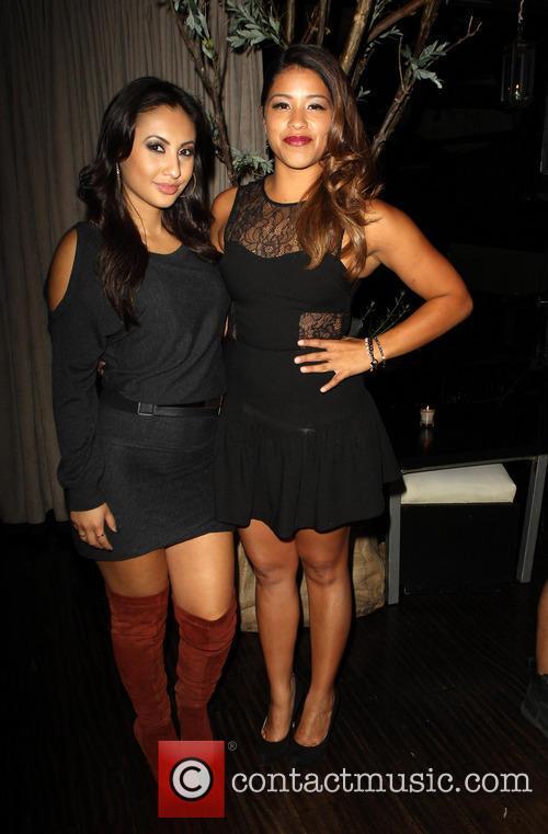 Francia Raisa and Gina Rodriguez 5