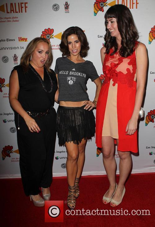 Nicole Gomez Fisher, Ana Ortiz and Courtney Andrialis 3
