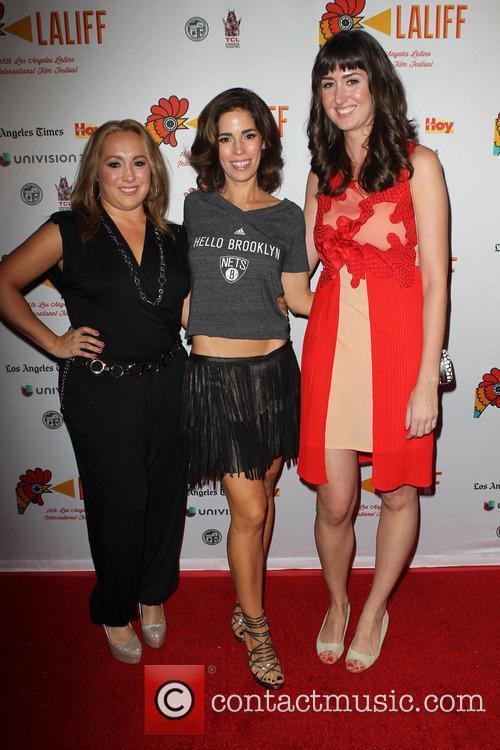 Nicole Gomez Fisher, Ana Ortiz and Courtney Andrialis 6