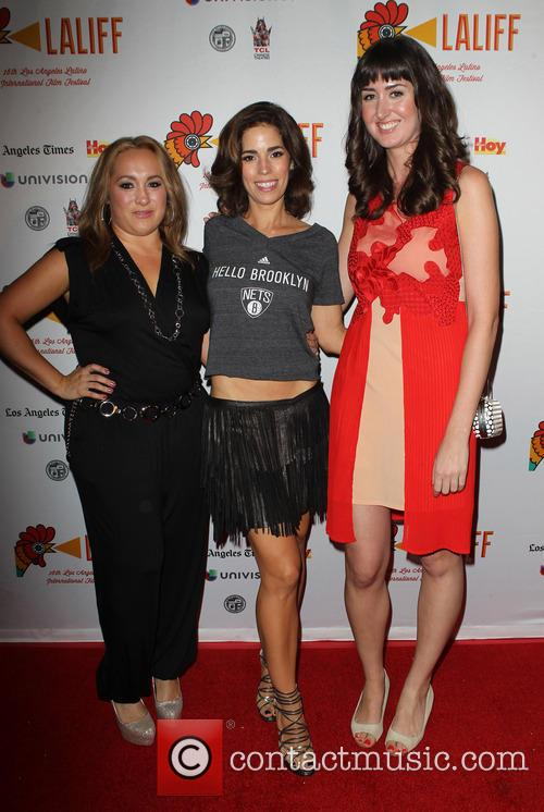 Nicole Gomez Fisher, Ana Ortiz and Courtney Andrialis 7