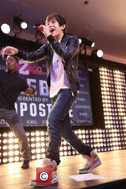 austin mahone z100 s jingle ball 2013 3902858