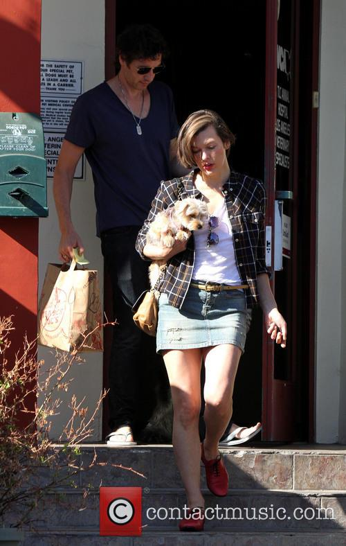 Paul W. S. Anderson and Milla Jovovich 8
