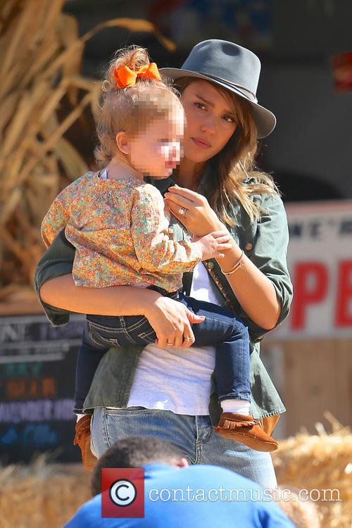 Jessica Alba and Haven Garner Warren 1