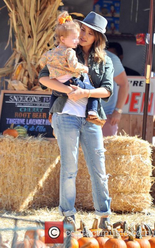 Jessica Alba and Haven Garner Warren 24