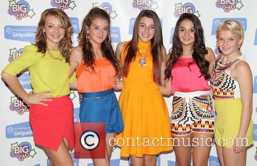 5 angels girlguiding big gig press room 3904574