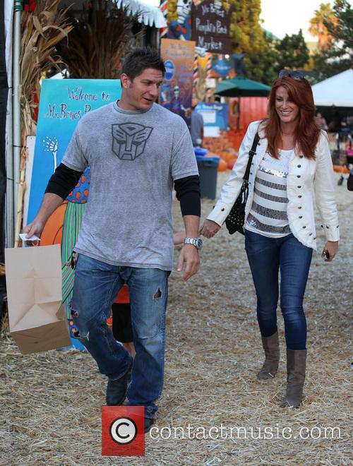 Angie Everhart and Fritz Pfnur 11