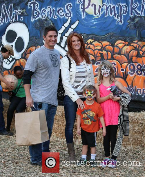 Angie Everhart, Fritz Pfnur, Kayden Bobby Everhart and Guest 5