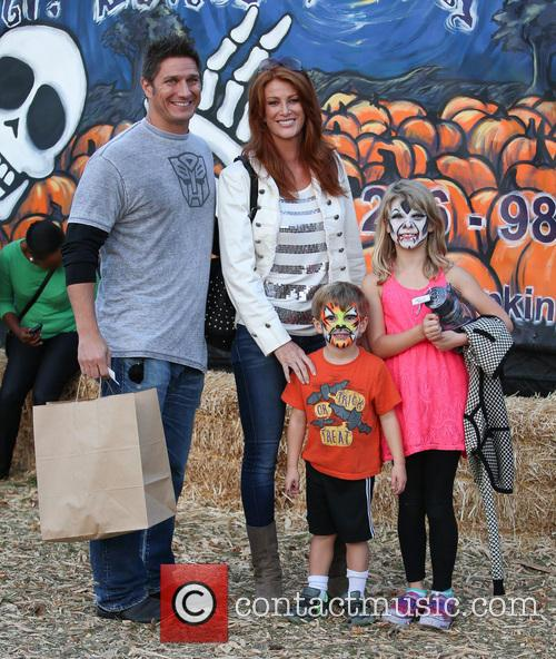 Angie Everhart, Fritz Pfnur, Kayden Bobby Everhart and Guest 6