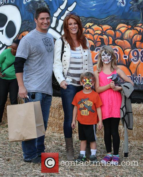 Angie Everhart, Fritz Pfnur, Kayden Bobby Everhart and Guest 9