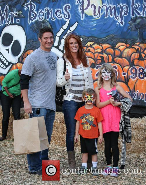 Angie Everhart, Fritz Pfnur, Kayden Bobby Everhart and Guest 7
