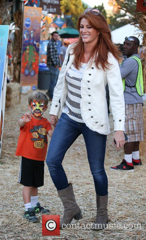 Angie Everhart and Kayden Bobby Everhart 2