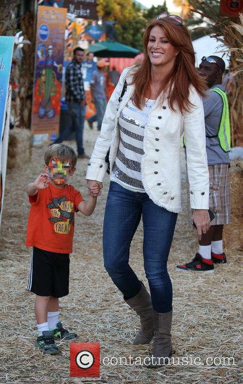 Angie Everhart and Kayden Bobby Everhart 3
