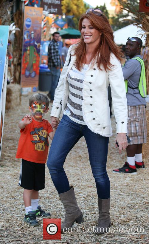 Angie Everhart and Kayden Bobby Everhart 1