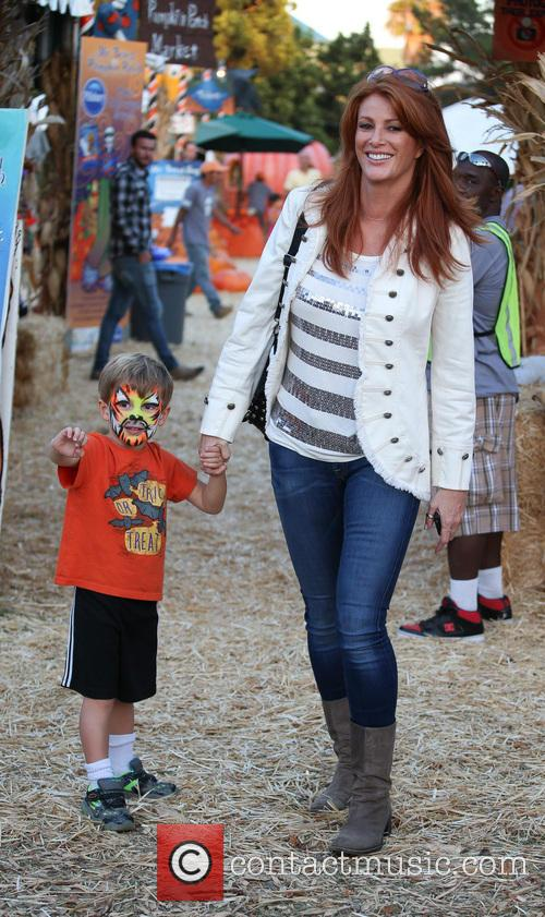 Angie Everhart and Kayden Bobby Everhart 10