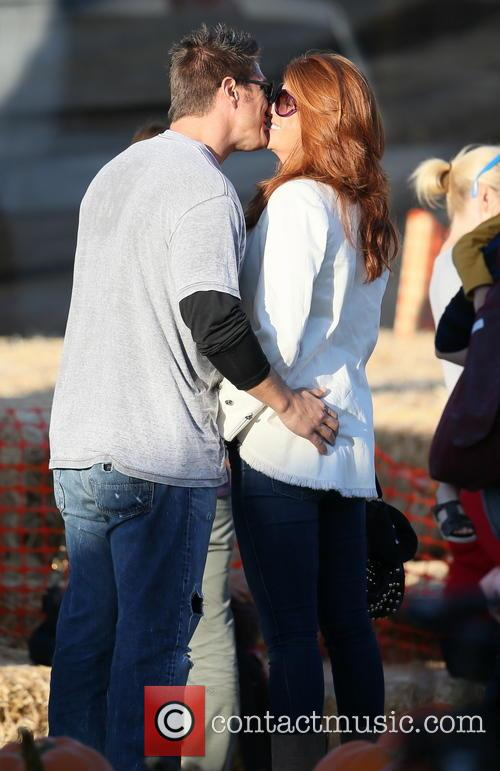 Angie Everhart and Fritz Pfnur 6