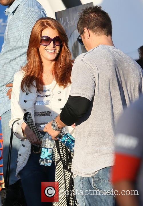 Angie Everhart and Fritz Pfnur 9
