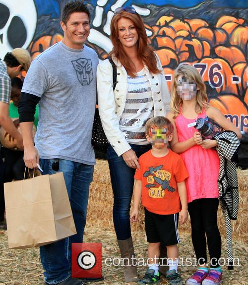 Angie Everhart, Kayden Bobby Everhart and Fritz Pfnur 1