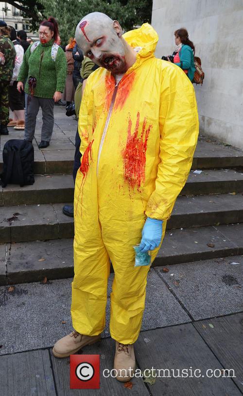 The annual London Zombie Walk