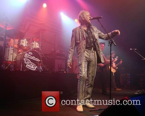 Bob Geldof & The Boomtown Rats perform at...