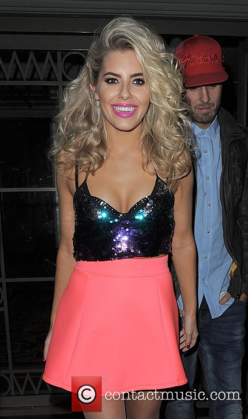 The Saturdays leaving their hotel and heading to...
