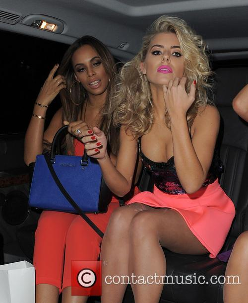 Rochelle Humes and Mollie King 4