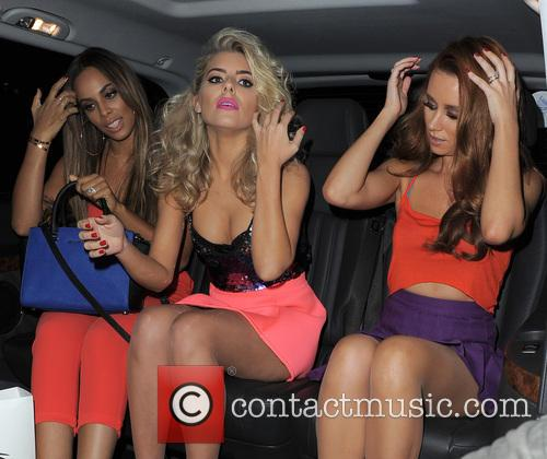 Rochelle Humes, Mollie King and Una Healy 8
