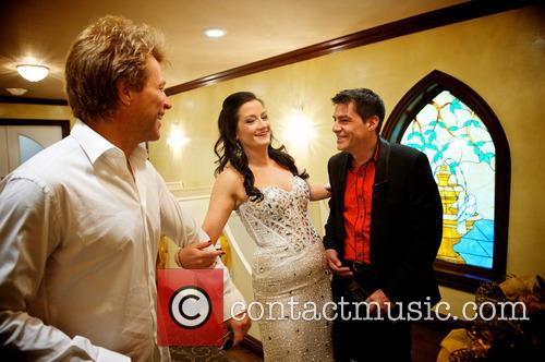 Jon Bon Jovi, Branka Delic and Gonzalo Cladera 2
