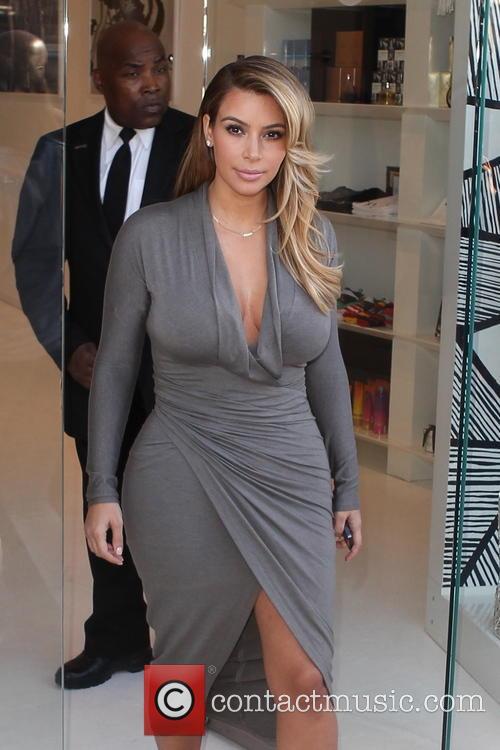 Kim Kardashian leaving the Dash store on Melrose