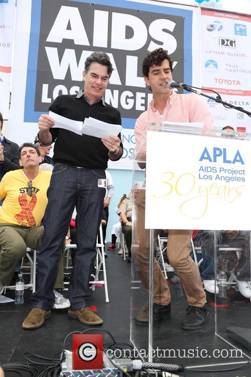 Peter Gallagher and Hamish Linklater 6
