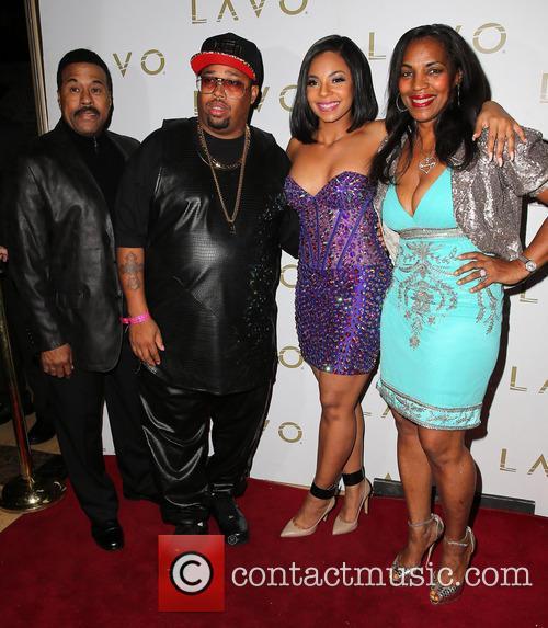 Ken-kaide Thomas Douglas, Guest, Ashanti and Tina Douglas 2