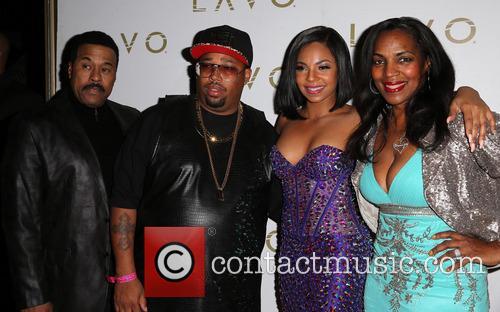 Ken-kaide Thomas Douglas, Guest, Ashanti and Tina Douglas