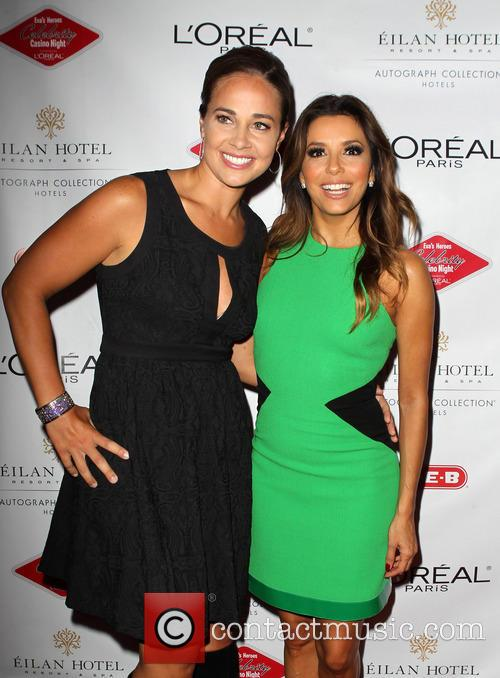 Gisela Girard and Eva Longoria 2