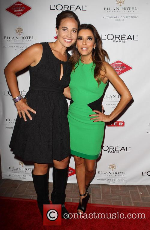 Gisela Girard and Eva Longoria 4
