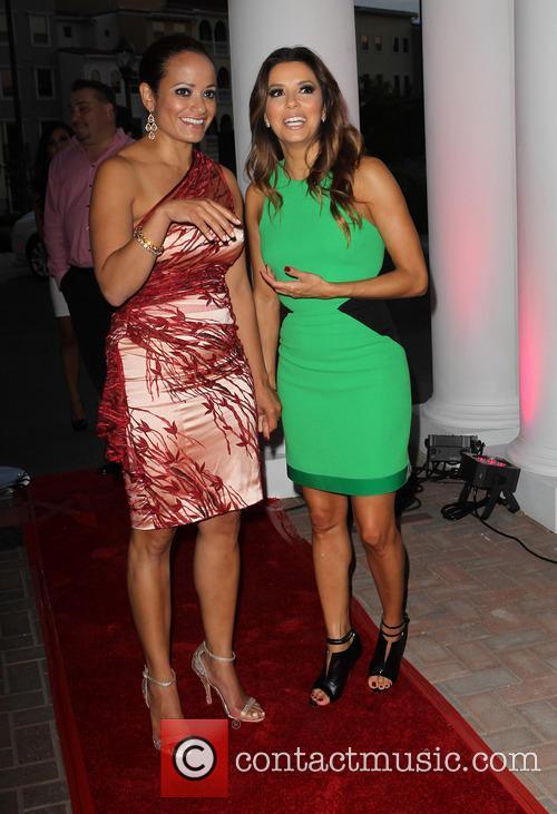 Judy Reyes, Eva Longoria, Eilan Hotel Resort and Spa