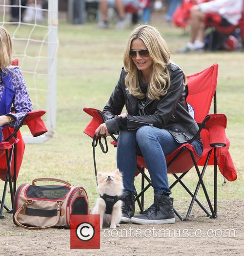 heidi klum heidi klum at soccer match 3905231
