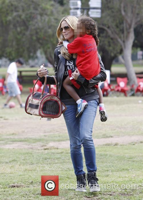 Heidi Klum and Lou Samuel 5