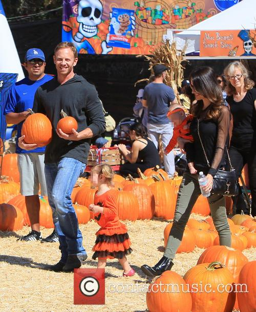 Ian Ziering, Erin Kristine Ludwig, Mia Ziering and Penna Mae Ziering 2
